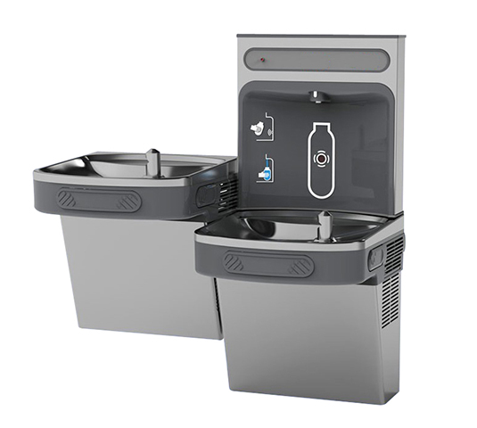 wall mounted l drinking water fountain